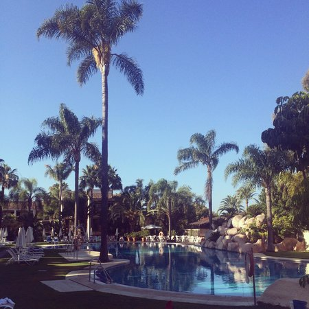 BlueBay Banus: the main pool!