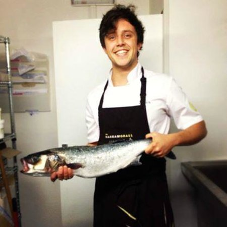 The Marram Grass Cafe: Head chef/fresh fish