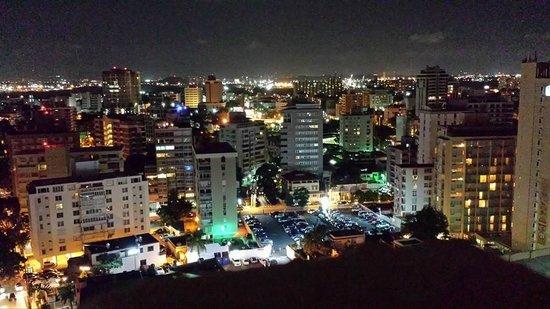 San Juan Marriott Resort & Stellaris Casino: 18th Floor Balcony City View