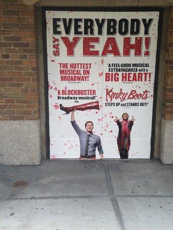 Kinky Boots on Broadway: Kinky Boots