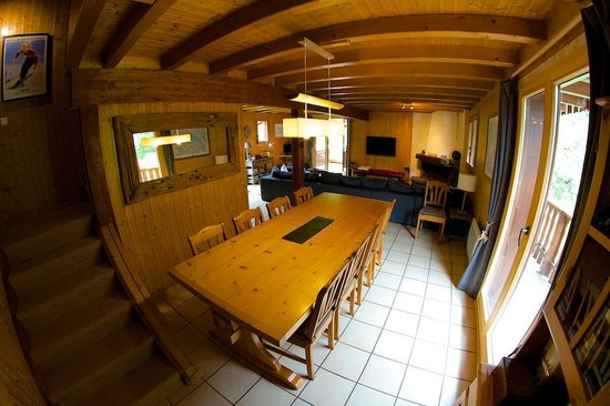 Chalet Tzigane: Dining room