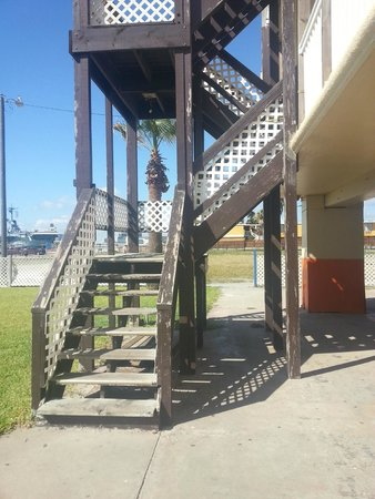 Sea Shell Inn Motel: The stairs are steep