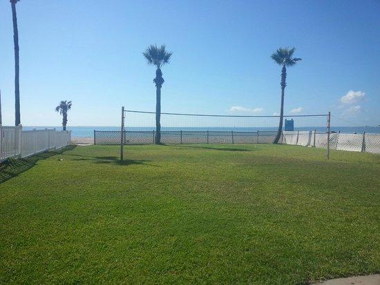 Sea Shell Inn Motel : Volleyball court