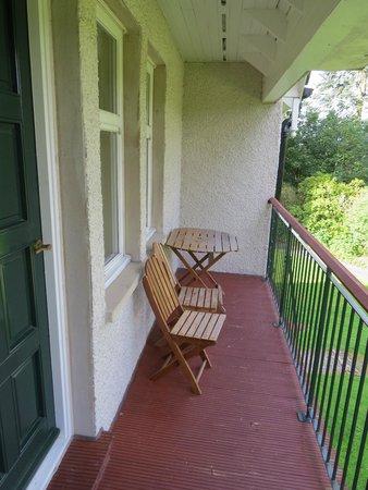 Ballathie House Hotel: Balcony of Riverside room