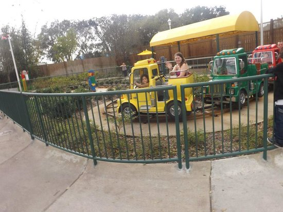 LEGOLAND Florida Resort: Train ride!