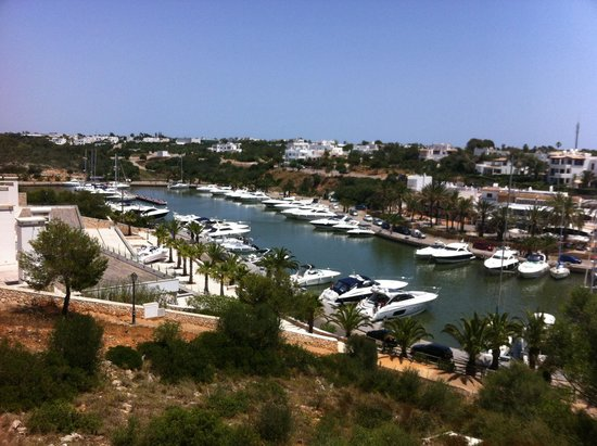 Palia Puerto Del Sol: Overlooking the marina from our balcony, wow!