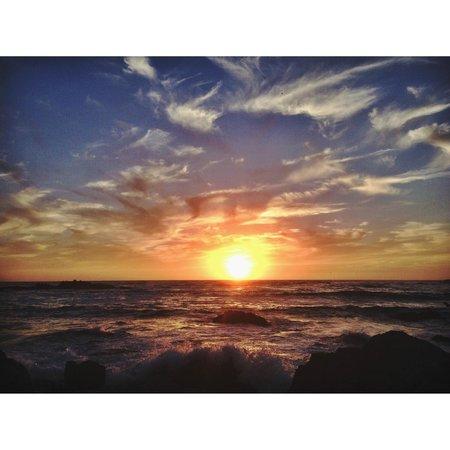 17-Mile Drive : sunset