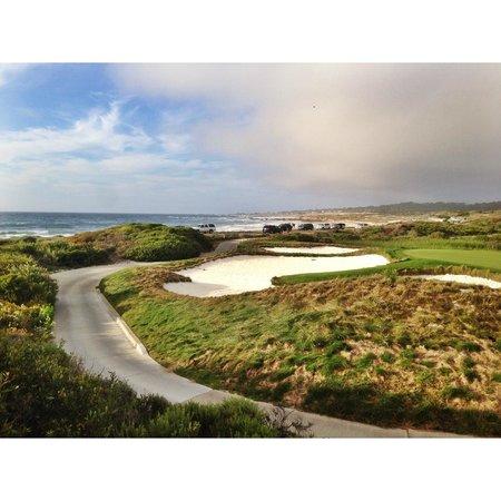 17-Mile Drive: golf fields