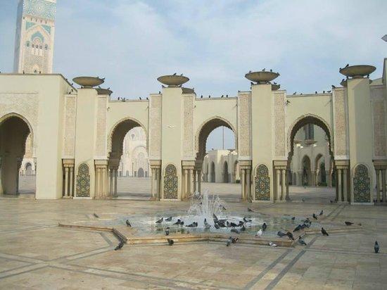 Mezquita de Hassan II: inside