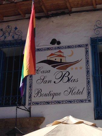 Casa San Blas Boutique: fachada del hotel