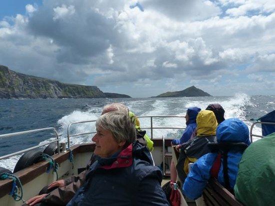 Casey's Skellig Islands Tours: Boat