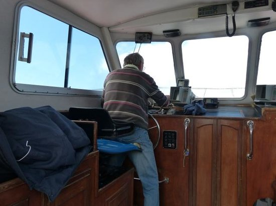 Casey's Skellig Islands Tours: Skipper