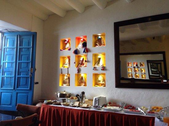 Casa San Blas Boutique: Restaurante y el desayuno