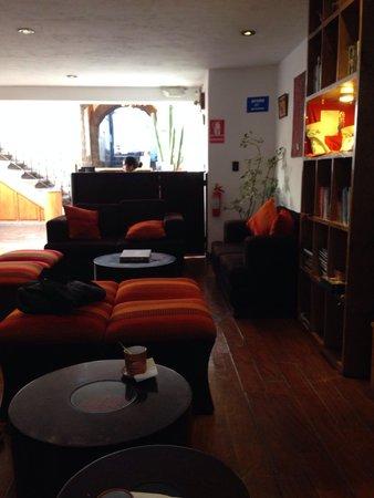 Casa San Blas Boutique: lobby y recepcion