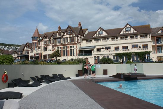 The Woolacombe Bay Hotel: View from the lido June 2014