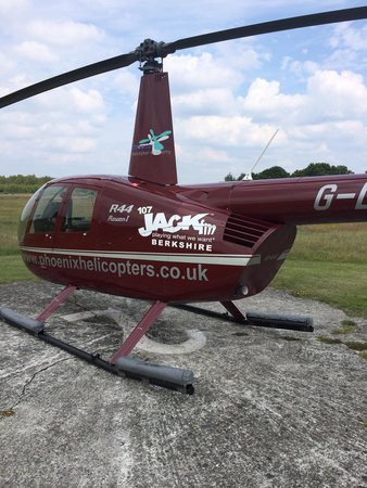 Phoenix Helicopter Academy - Tours: Our helicopter for the VIP London sightseeing tour