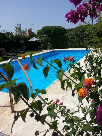 Hotel Donana Blues : Voici la piscine après une petite journée de plage et de ballade il y fait bon de si rafraichire