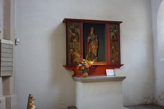 St. Jacob's Church (St. Jakobskirche): inside