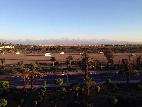 Sofitel Marrakech Palais Imperial : Vue depuis mon balcon