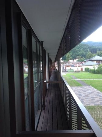 Falkensteiner Hotel & Asia Spa Leoben: balkon links
