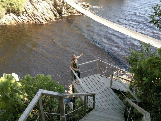 Storms River Suspension Bridge: Suspension Bridge