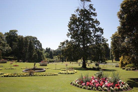 Bicton Park Botanical Gardens: View Of The Italian Garden