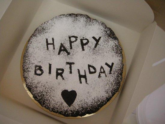 Gelateria Cioccolateria Vivaldi : Lovely gluten free chocolate cake!