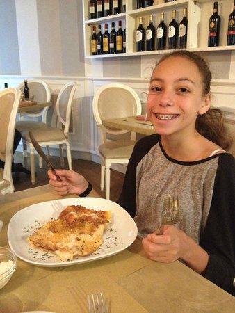 Oltrarno 14: She LOVED the lasagne