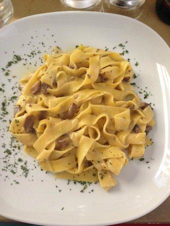 Oltrarno 14: Fettucini with Mushrooms Mmmm