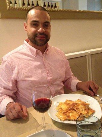 Oltrarno 14: His cheese ravioli w/ragu was SUPER