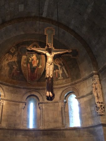 The Met Cloisters: Hanging Crucifix
