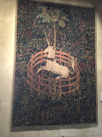 The Met Cloisters: Unicorn Tapestry