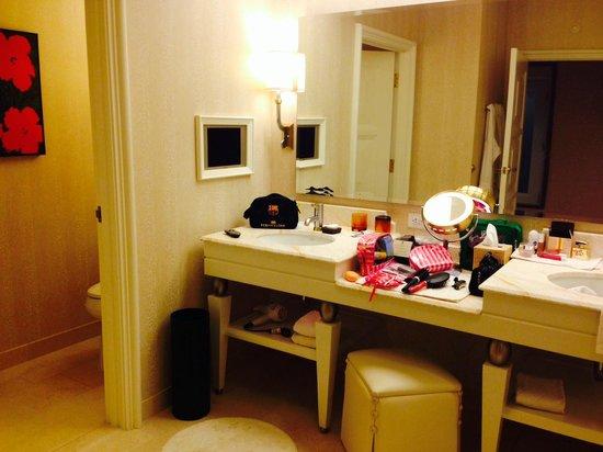 Wynn Las Vegas: banheiro