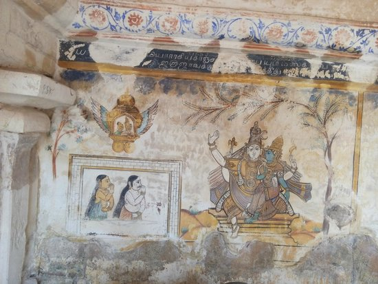 Brihadeeshwara Temple: Paintings of yore