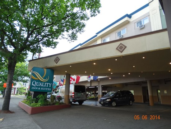 Quality Inn & Suites Seattle: Fachada do hotel
