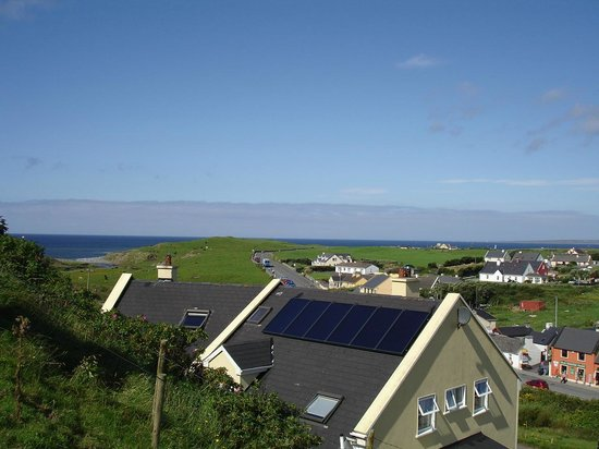 Sea View House Doolin: Our bank of solar panels
