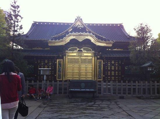 Ueno Park : Ueno Temple