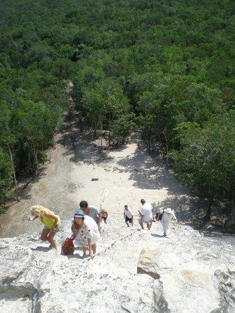 Ruinas de Coba: С пирамиды