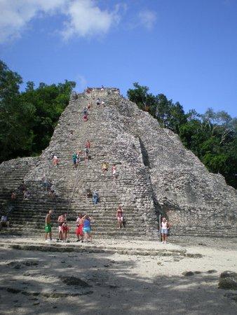 Ruinas de Coba: пирамида
