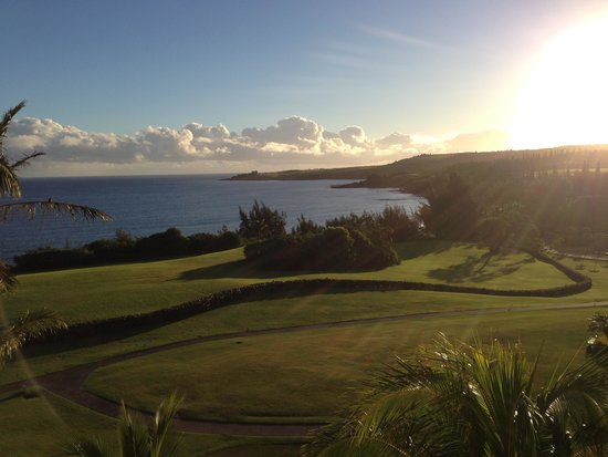 Kapalua, HI: The view from our room