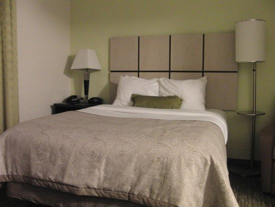 Candlewood Suites Arundel Mills / BWI Airport : Bed