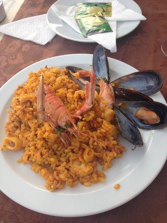 Cordial Mogan Valle: Paella from 'El Caldero