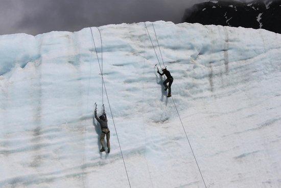 St. Elias Alpine Guides Day Adventures: Ice Climbing!