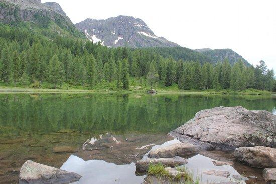 Hotel Cristallo: lago san pellegrino