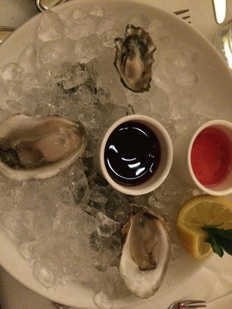 Union Square Cafe: oysters