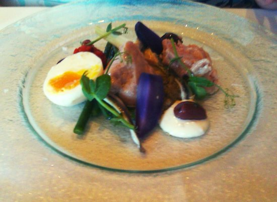 The Morley Hayes Hotel: tuna loin
