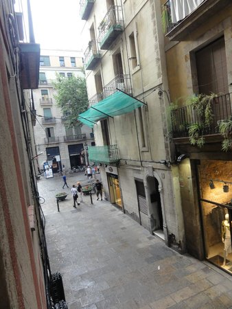 Inside Barcelona Apartments Vidreria : view from apartment