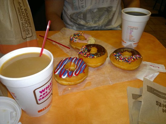 dunkin 39 donuts new york city 606 10th ave hell 39 s. Black Bedroom Furniture Sets. Home Design Ideas