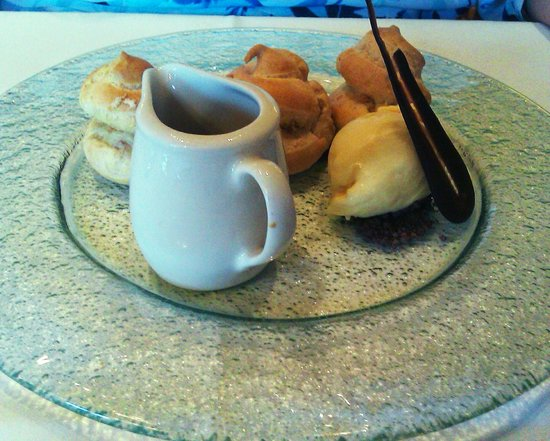 The Morley Hayes Hotel: coffee profiteroles