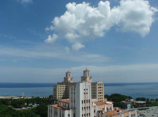 Hotel Vedado: Vista desde Vedado St Jhones La Habana